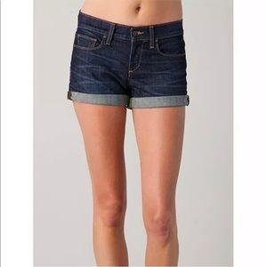 """Joe's Jeans """"Marisela"""" Cuffed Denim Jean Shorts"""